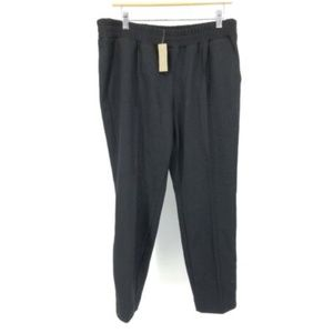J Crew Cropped Pants Black Wide Gaucho Dress Pants